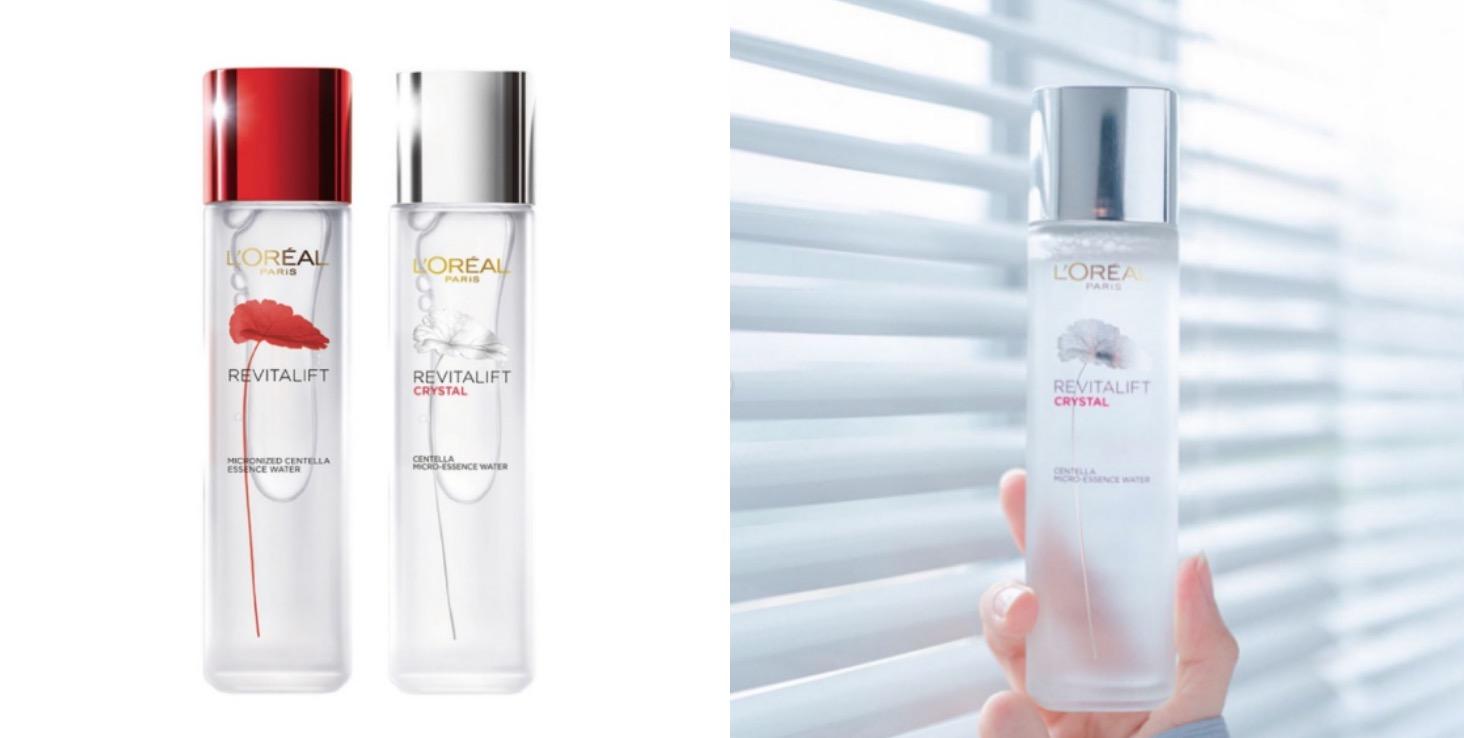 一次帶兩罐養膚聖水,奇蹟露能修護潤澤肌膚,運用濕敷技巧幫助穩定膚況,青春露則是讓肌膚晶瑩剔透