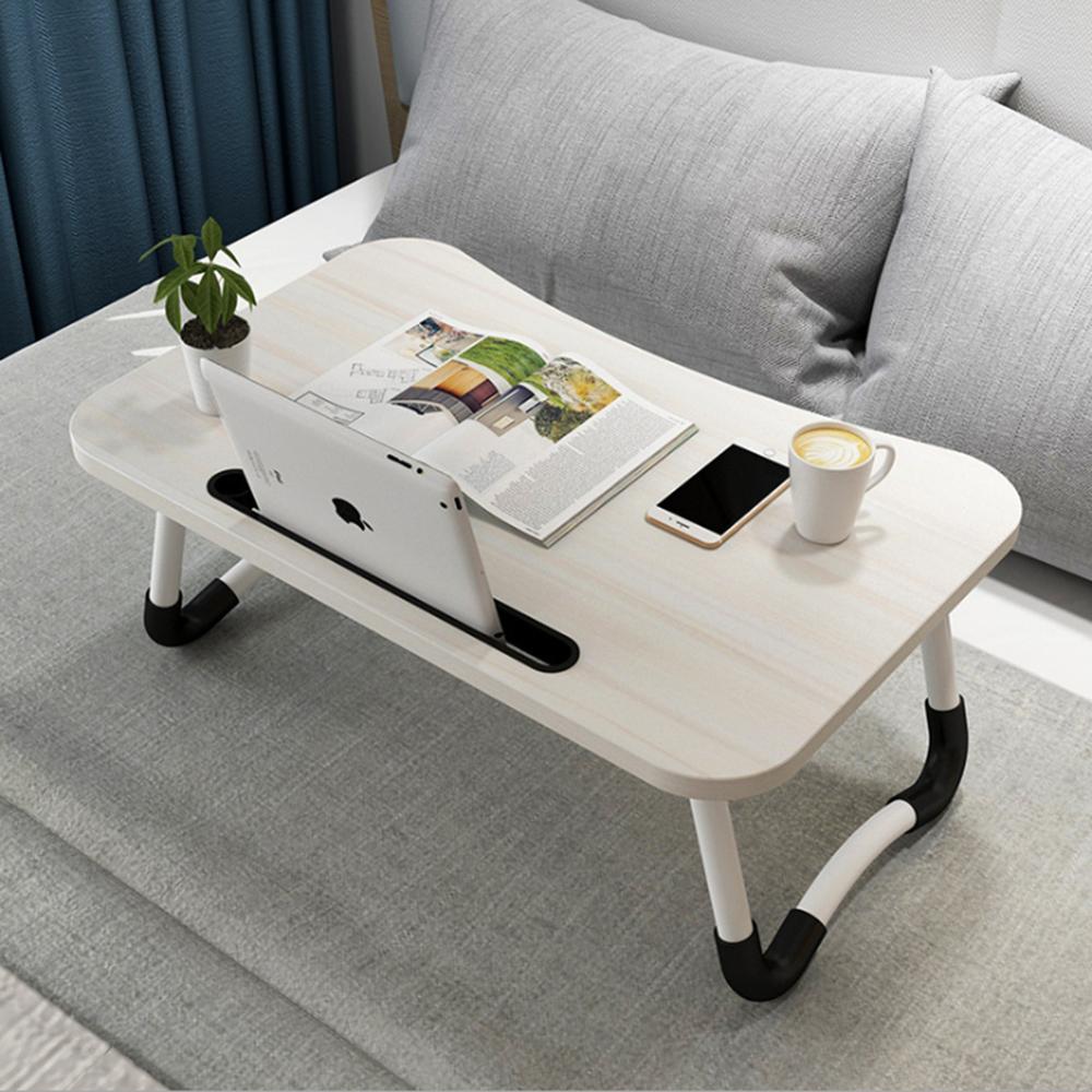 折疊設計收納方便,攜帶輕巧就算要移動到別處也很容易,早上能夠在床上上班,晚上可以用來追劇,夢想的生活就從這款折疊桌開始!