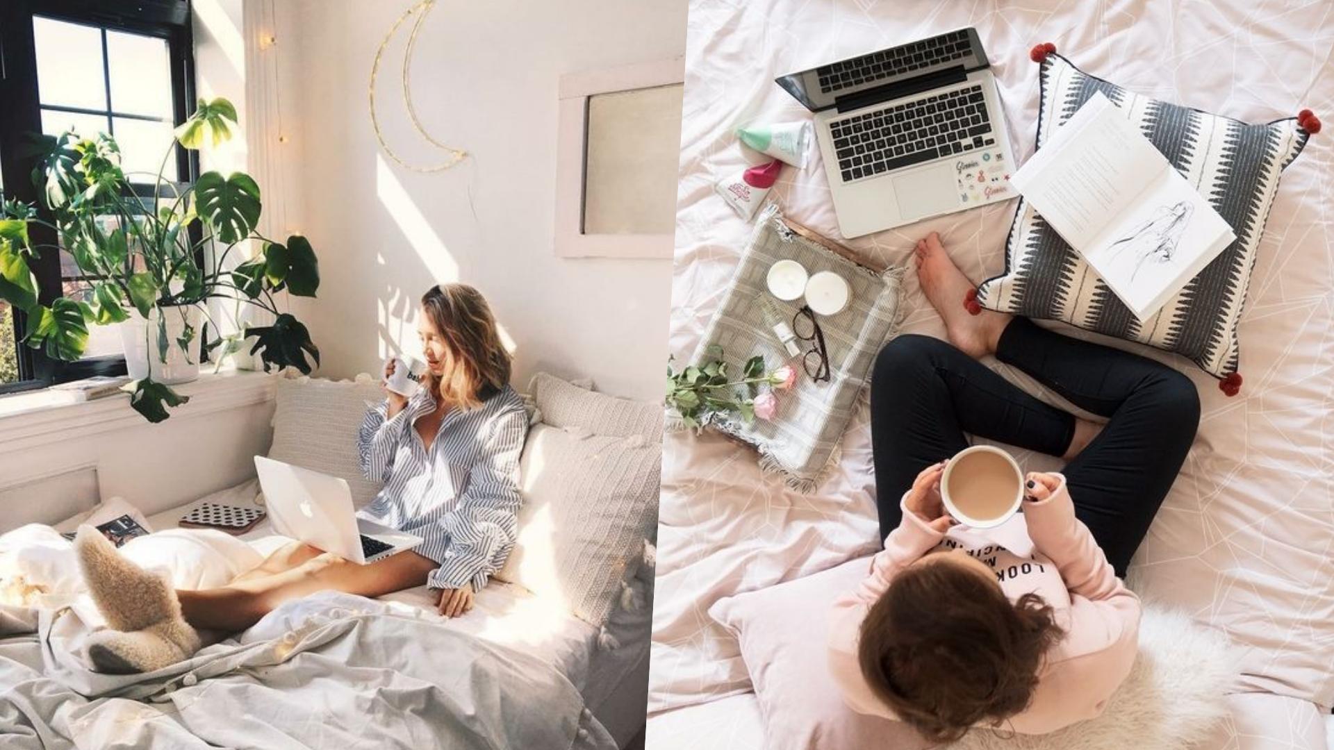 在家上班少了辦公室的拘束,當然要讓自己擁有一個舒適的環境!