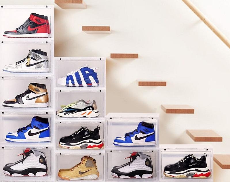 ▲ ANDYMAY2高品質抗UV磁吸式鞋盒,原價1880特價1410,即日起至3/29,滿1288送地墊。愛鞋可收納可展示,還可無限堆疊增量,買了!(圖片來源:Yahoo購物中心)