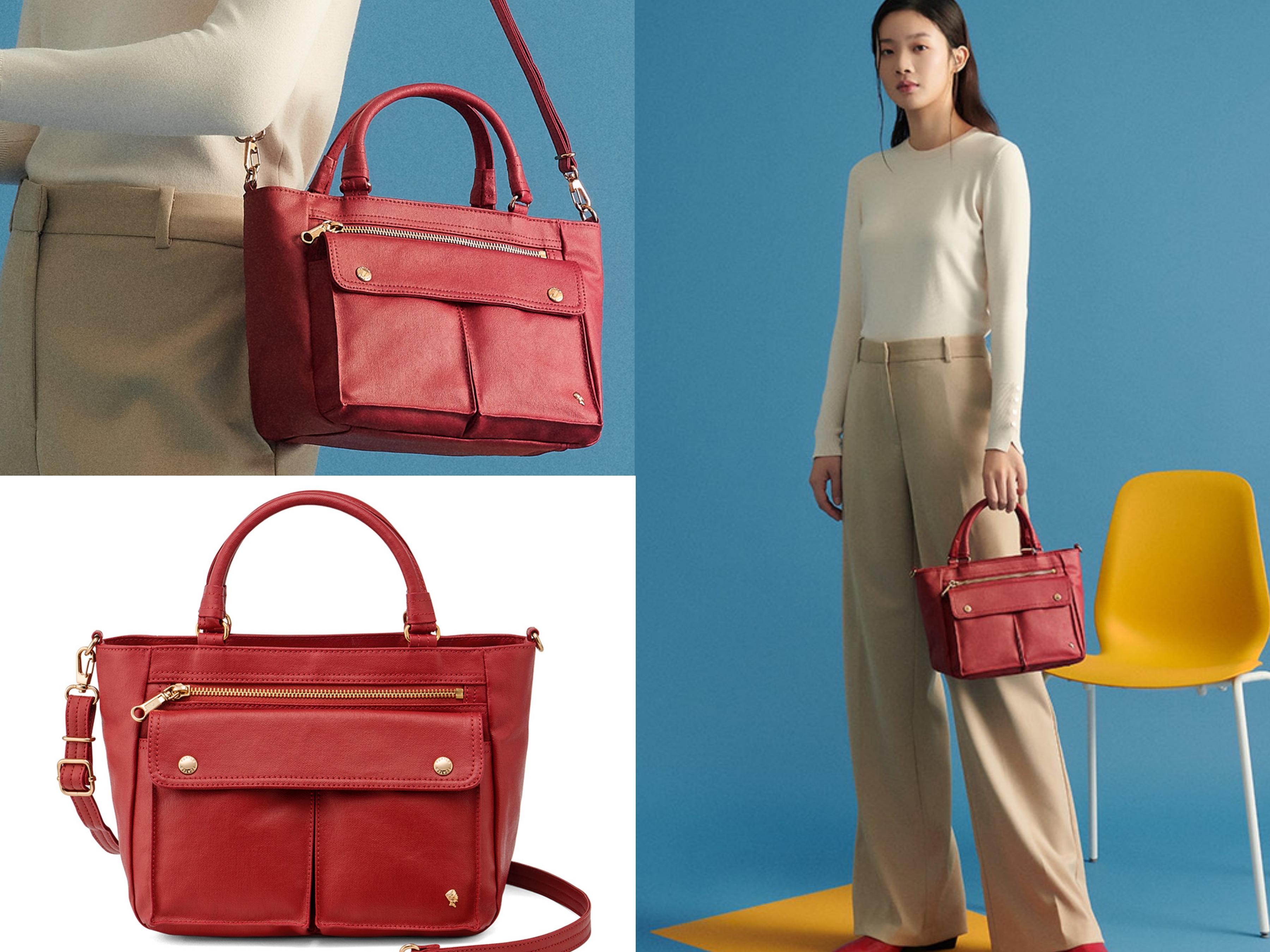 鮮明高彩的SPIRIT系列,以亮麗色彩塑造一系列適於女性日常生活的多款袋型