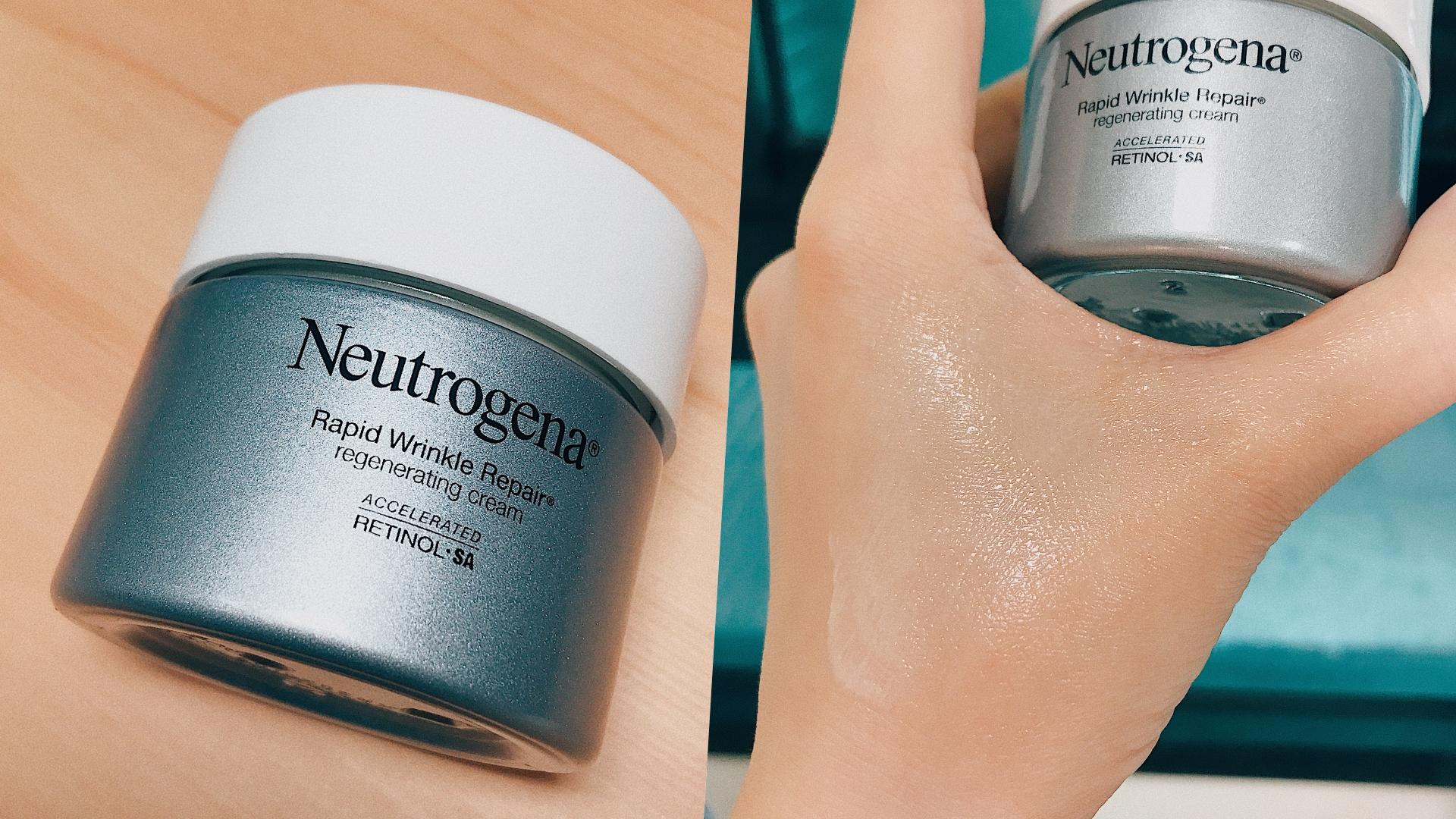 含有葡萄糖複合物,可以幫助延緩肌膚老化、維他命C能使肌膚呈現透亮光澤,使用起來是不油膩的霜狀質地,還有淡淡香氣讓保養過程更開心
