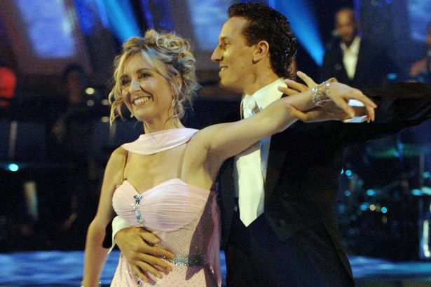 Fiona and Brendan on Strictly Come Dancing