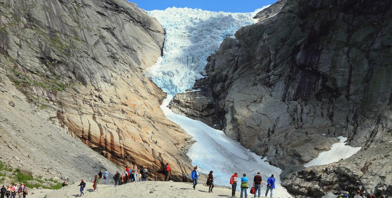 圖/布麗克斯達爾冰河