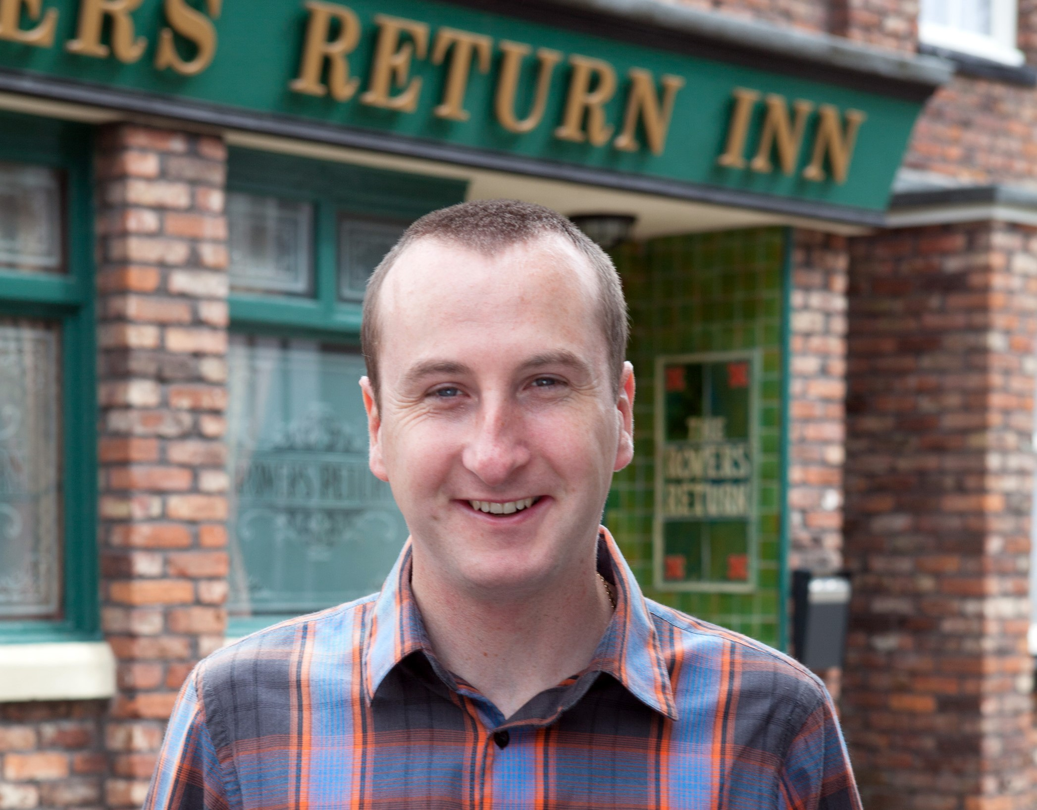 Andy Whyment has played Kirk Sutherland in 'Corrie' for 20 years (ITV)
