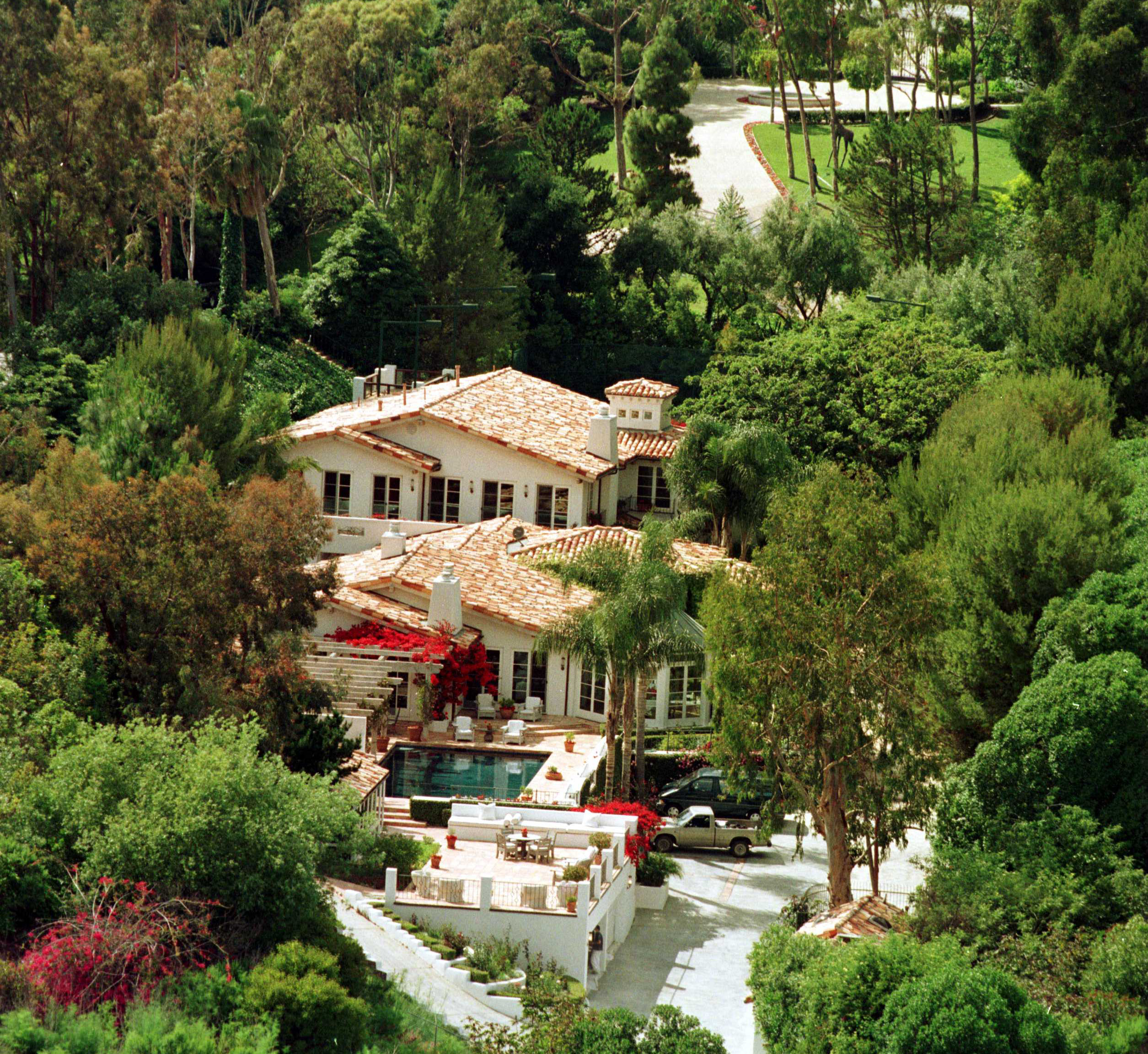 7/98 Malibu, Calif. The Malibu Home Of The Late Dodi Fayed (Photo By James Aylott/Getty Images)