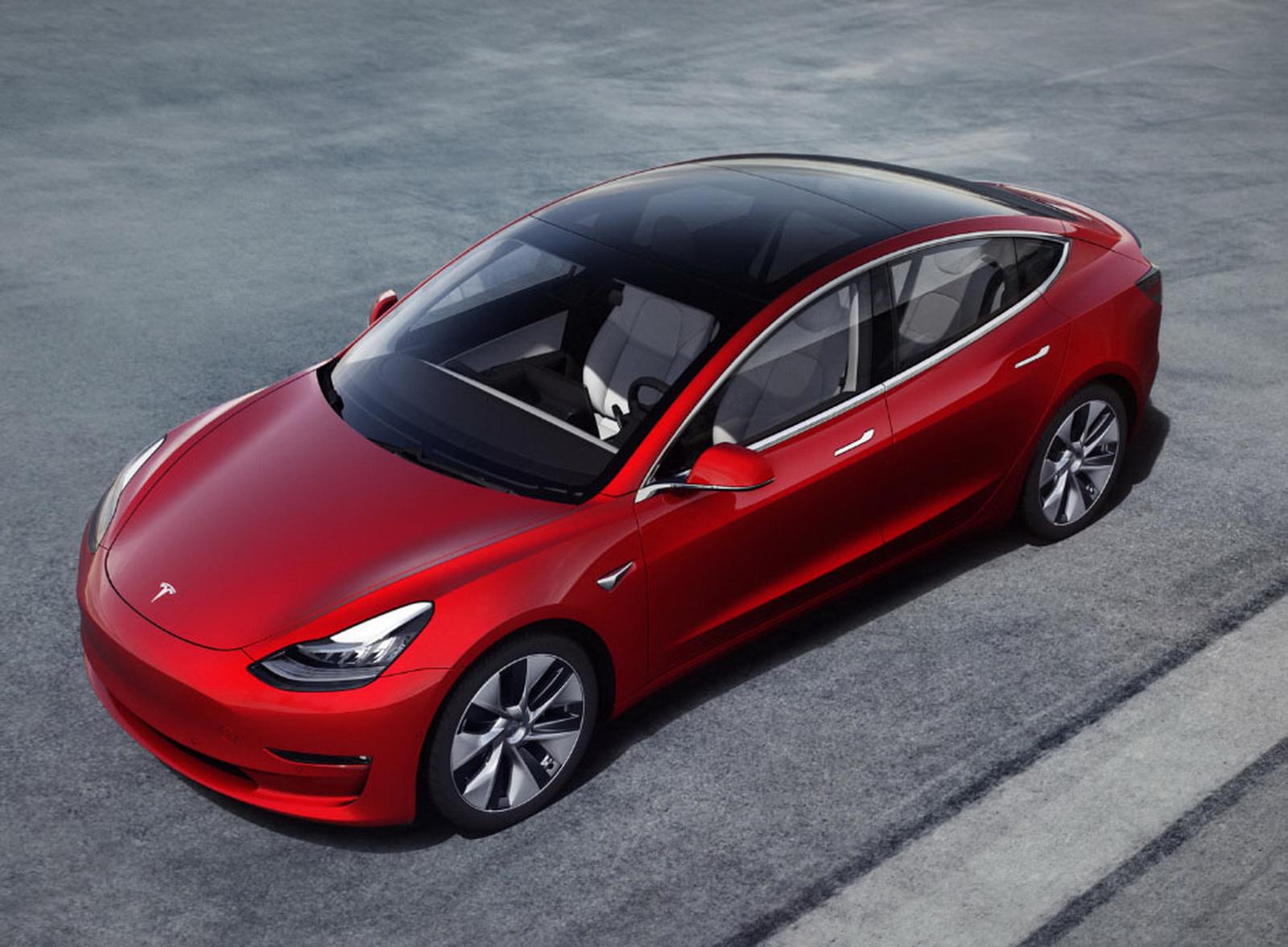 圖/本月Tesla Model 3滿血回歸!最終交出1,293輛的好成績,由於集中在本月交車,才能以破千的銷量異軍突起。