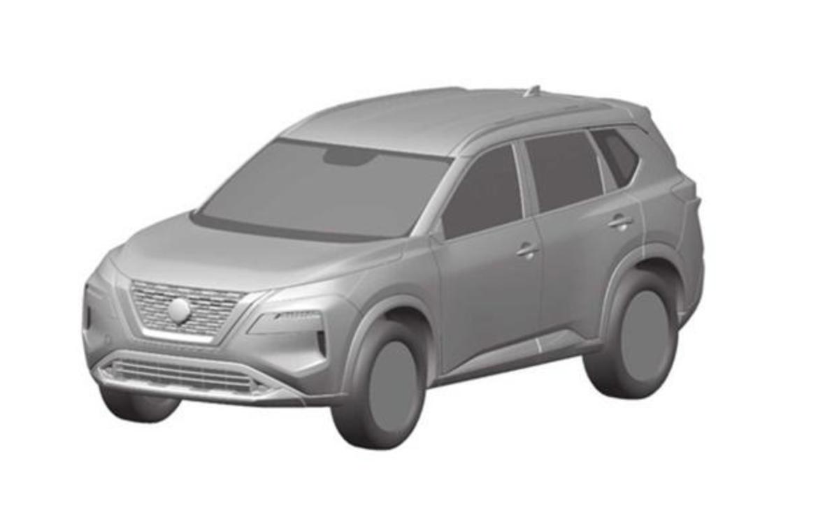 從巴西流出的原廠設計草圖,新一代 Nissan X-Trail 採用更年輕化設計。