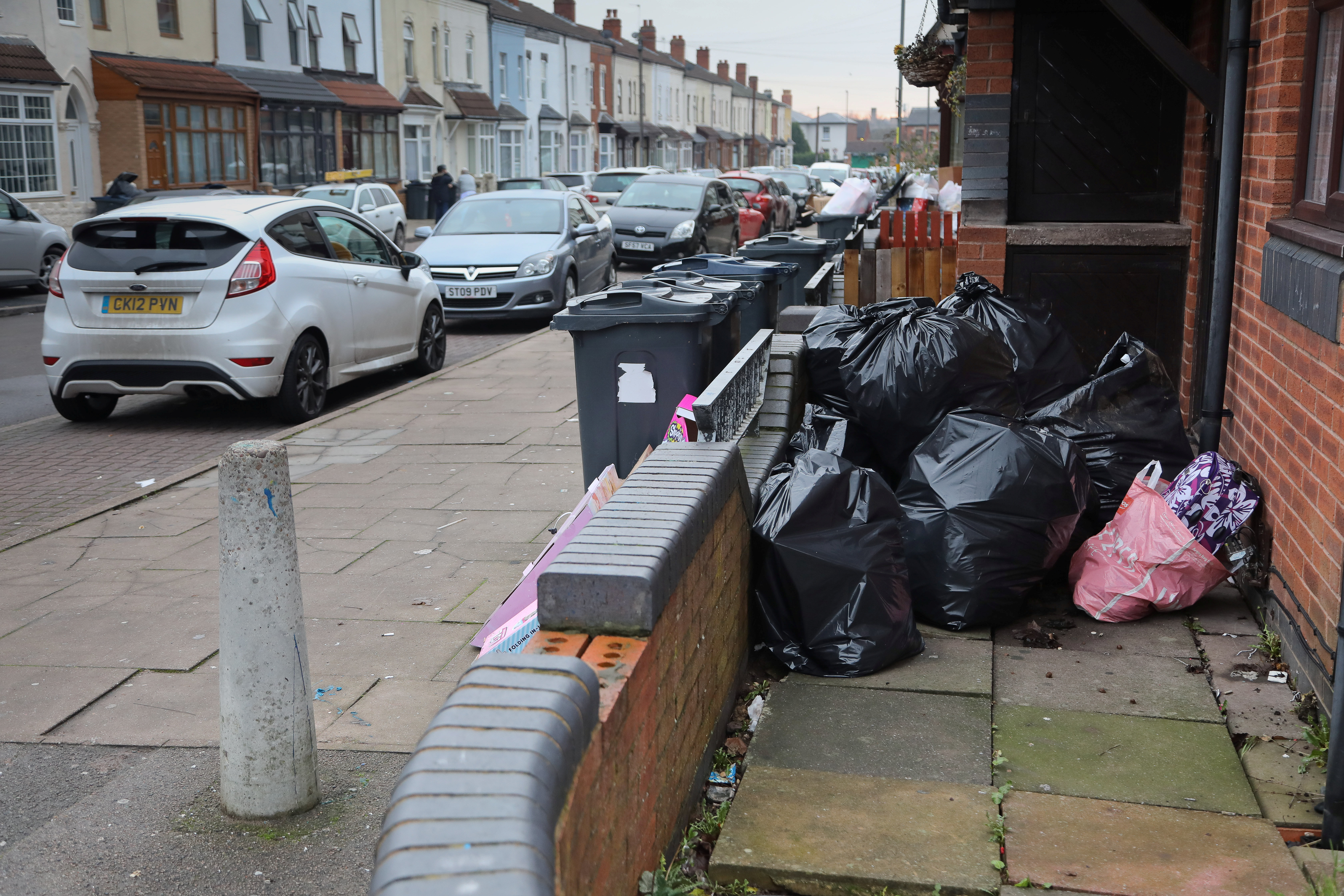 Delayed rubbish collections may be adding to the problem (Picture: SWNS)