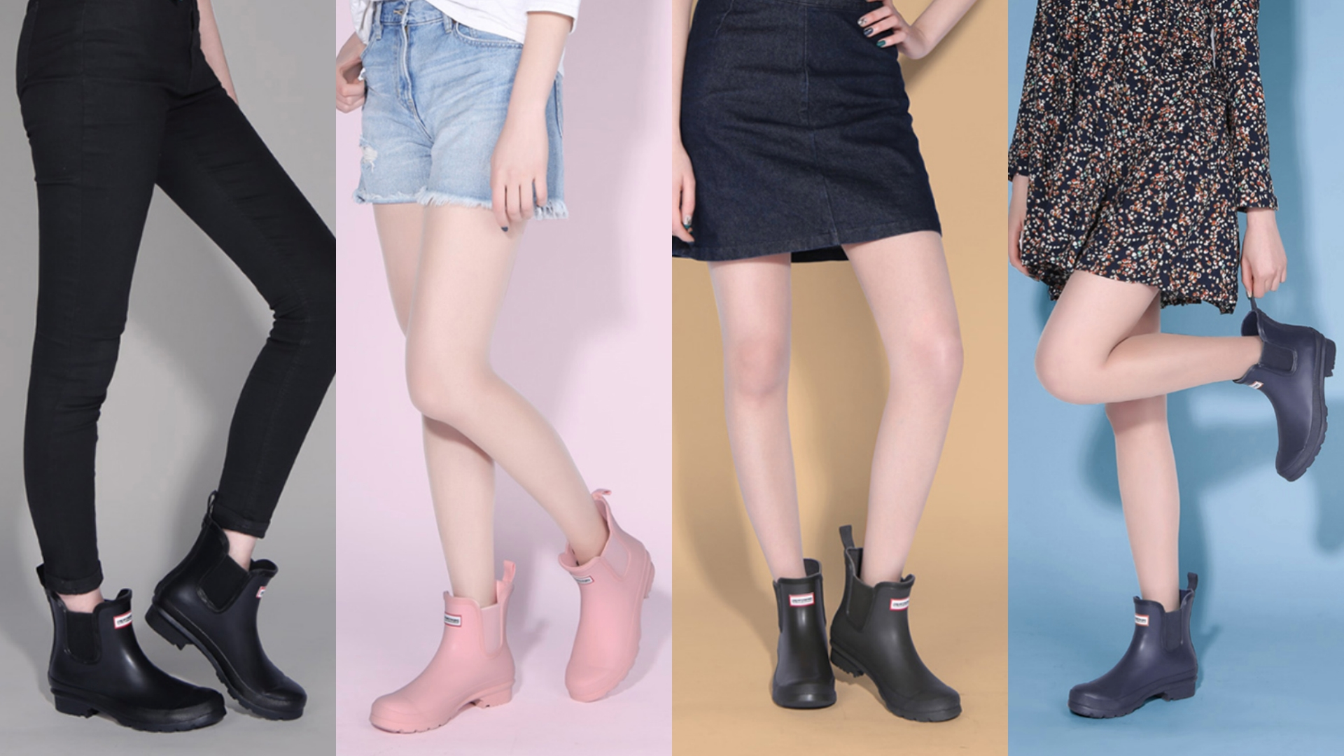 PAPERPLANES 紙飛機 韓國空運 雨鞋 優質軟面橡膠 舒適好穿 短筒 雨靴