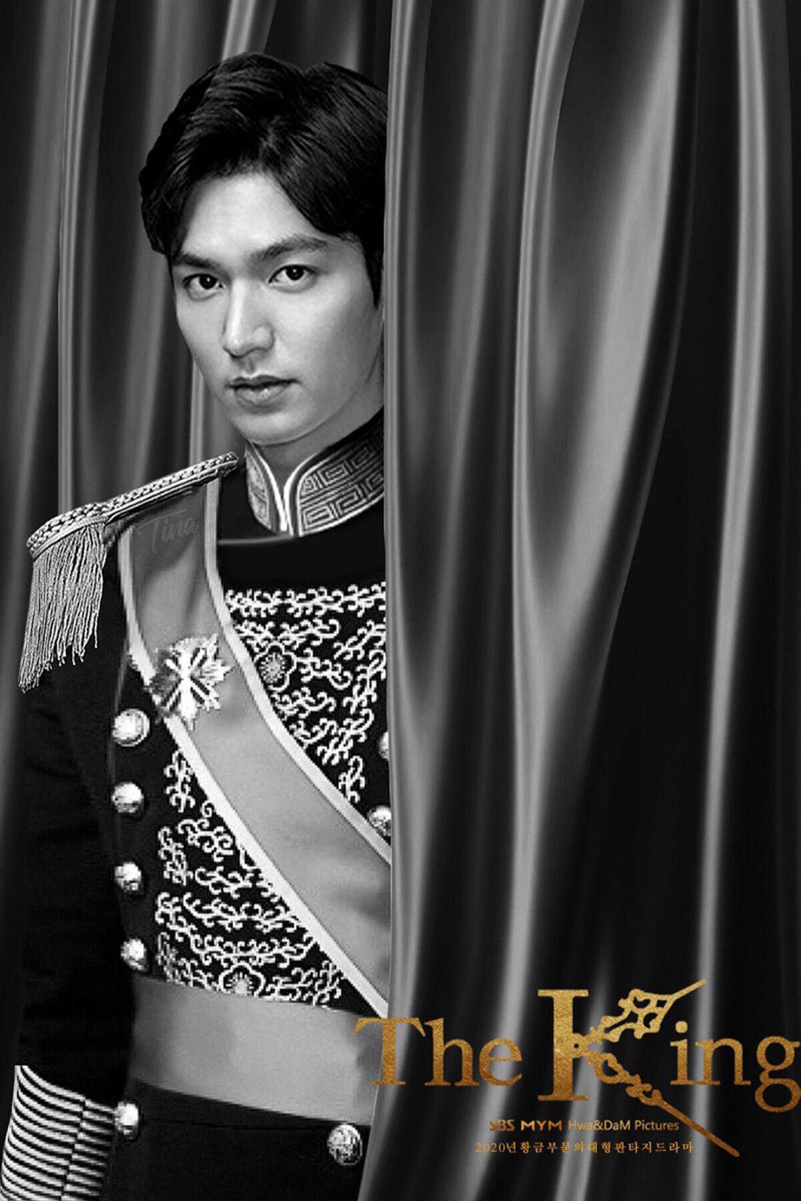 圖九:永遠的君主-李敏鎬海報