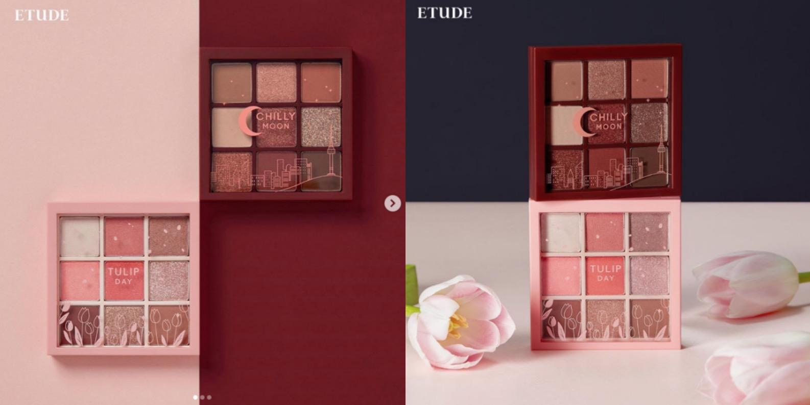 大地暖色跟珊瑚粉色系是今年最受關注的眼彩盤,ETUDE HOUSE一次把9款時髦眼色放入彩盤,讓你不會選擇困難