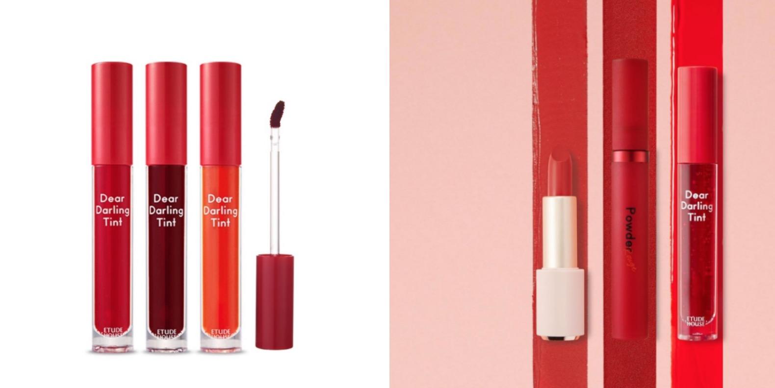 ETUDE HOUSE的唇彩主打超飽和、高顯色、水潤又不卡紋,這支唇釀在品牌中是年度唇彩人氣排行榜前三名,可以說是韓妞化妝包常備品。