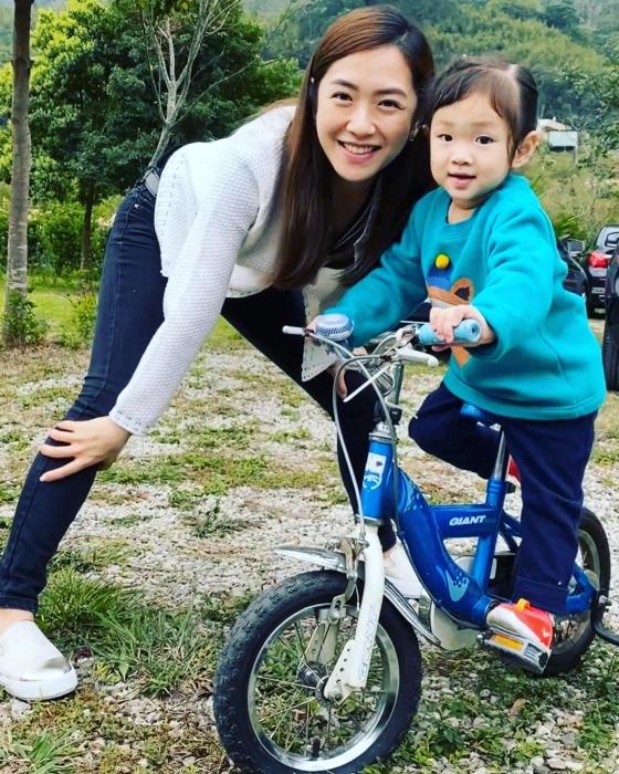 ▲楊千霈愛小孩:「當媽之後不一樣。」