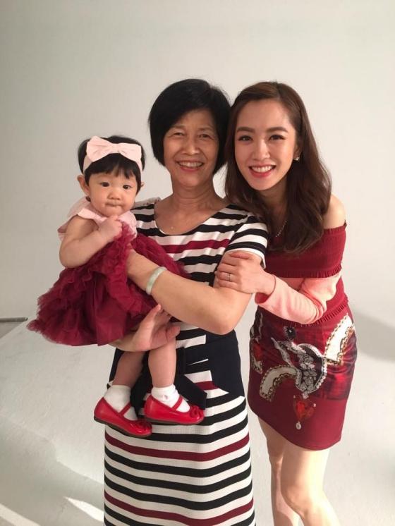 ▲楊千霈待婆婆如媽媽。