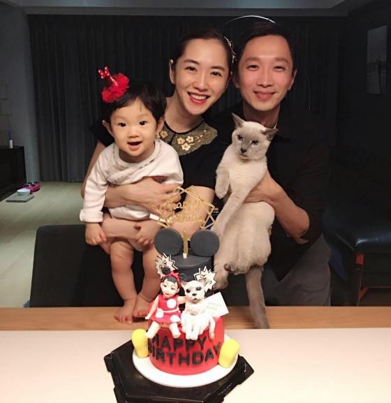 ▲楊千霈和老公喜迎新生命。