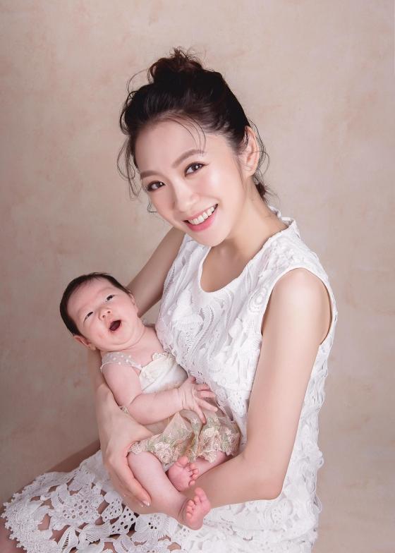 ▲楊千霈喜迎二寶出生。