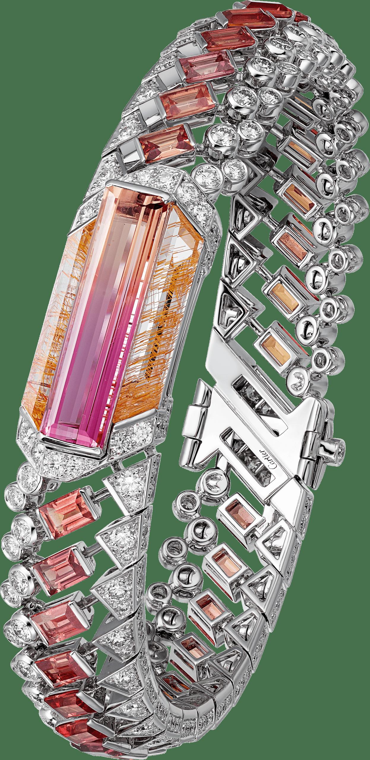 MAUNA (一座火山名) 雙色帝王托帕石手環