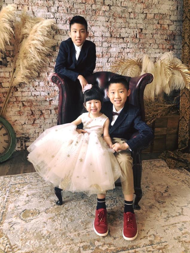 ▲黃文華期盼把更多時間留給孩子,共建美好家庭藍圖。