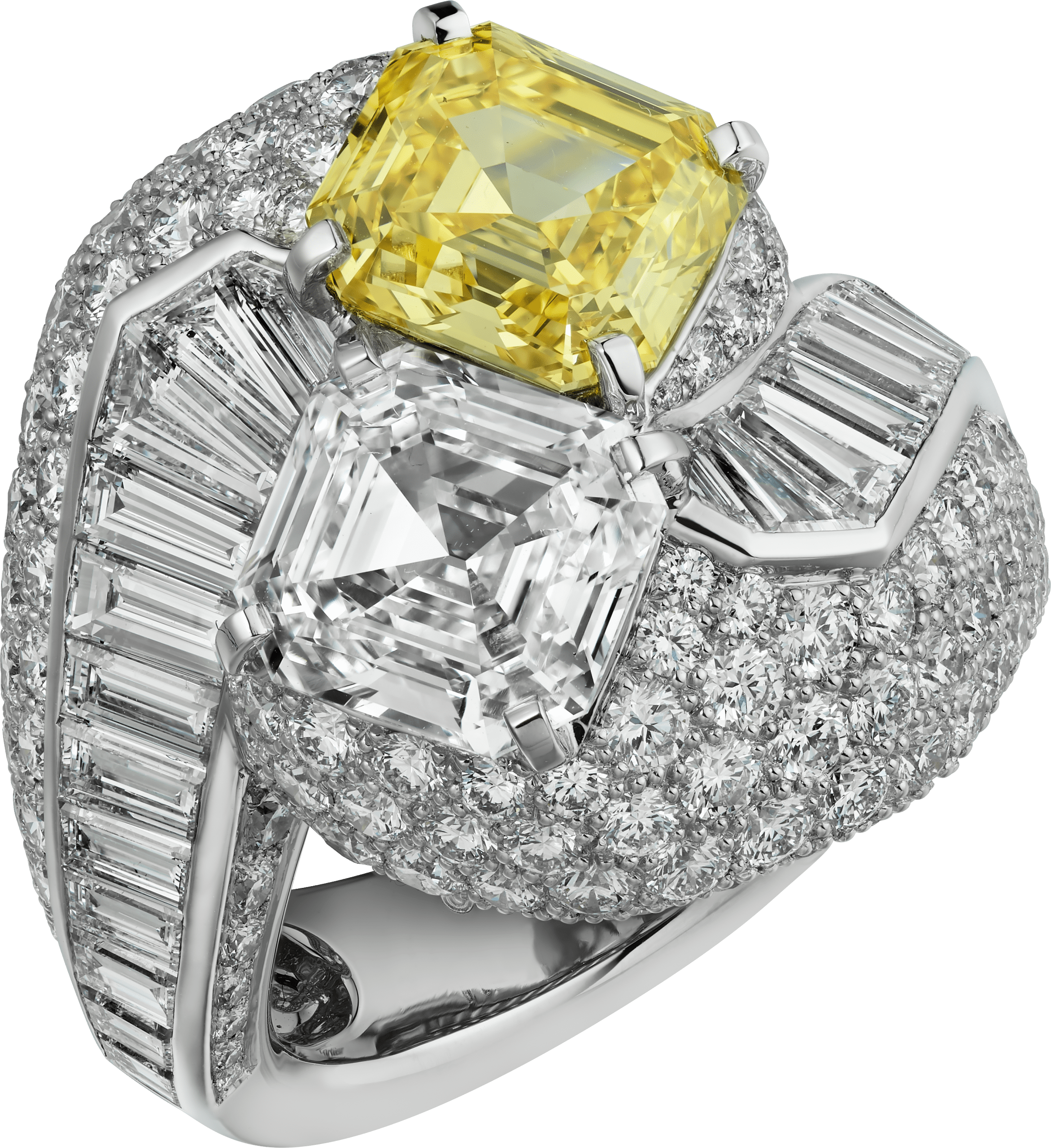 YELLOW COBALT黃鑽戒指