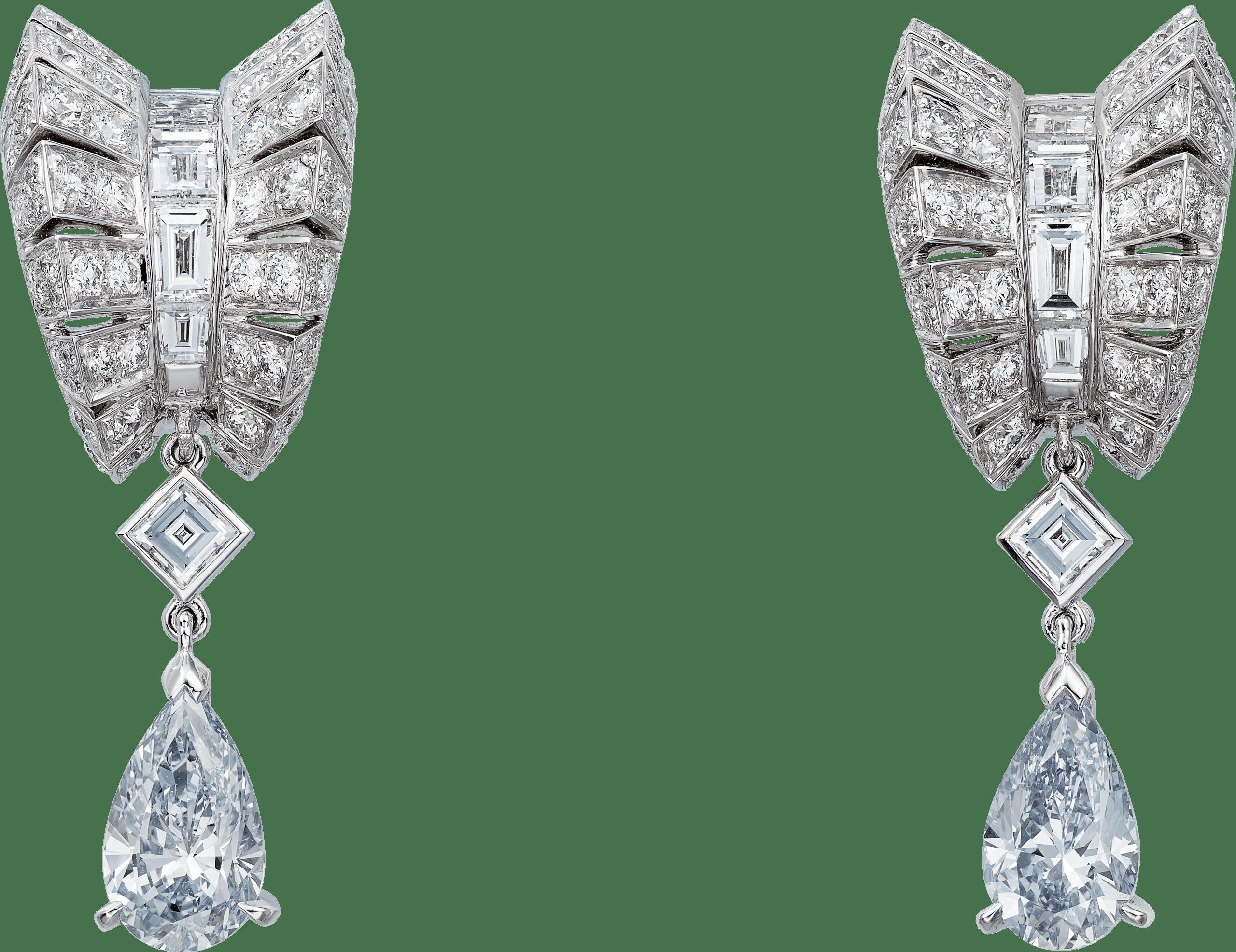 頂級珠寶系列藍鑽耳環
