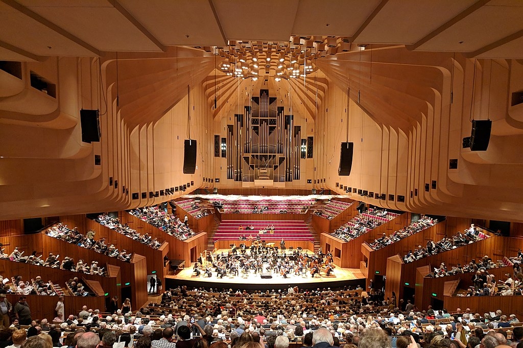 雪梨歌劇院 (Photo by Nick-D, License: CC BY-SA 3.0, Wikimedia Commons提供)