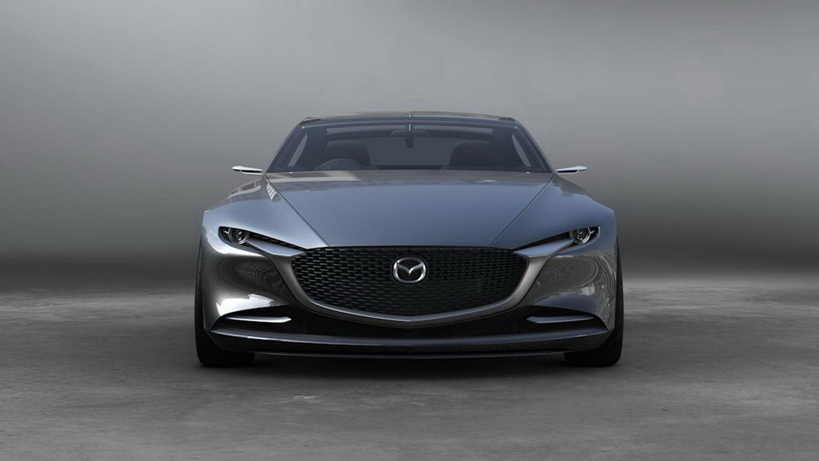 圖/直列六缸引擎可能採用縱向設計,與2015年東京車展上現身的RX Vision概念車十分雷同。