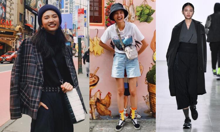 就讀輔大英文系的她,更是曾在世大運全程用英語播報賽事的正妹翻譯,如今她是走上紐約時裝周的台灣新生代超模