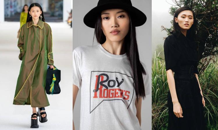 大學就讀輔大織品系的黃姝毓,一直跟時尚產業頗有淵源,從幫同學展示作品的學生模特,一步步走上國際