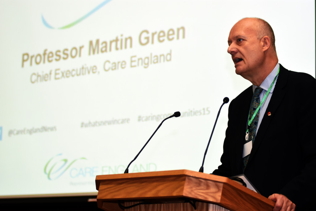 Professor Martin Green has warned that without testing for coronavirus in care homes, they cannot plan adequate care for residents suring the crisis (Paul Martyniuk/Care Home Professional)