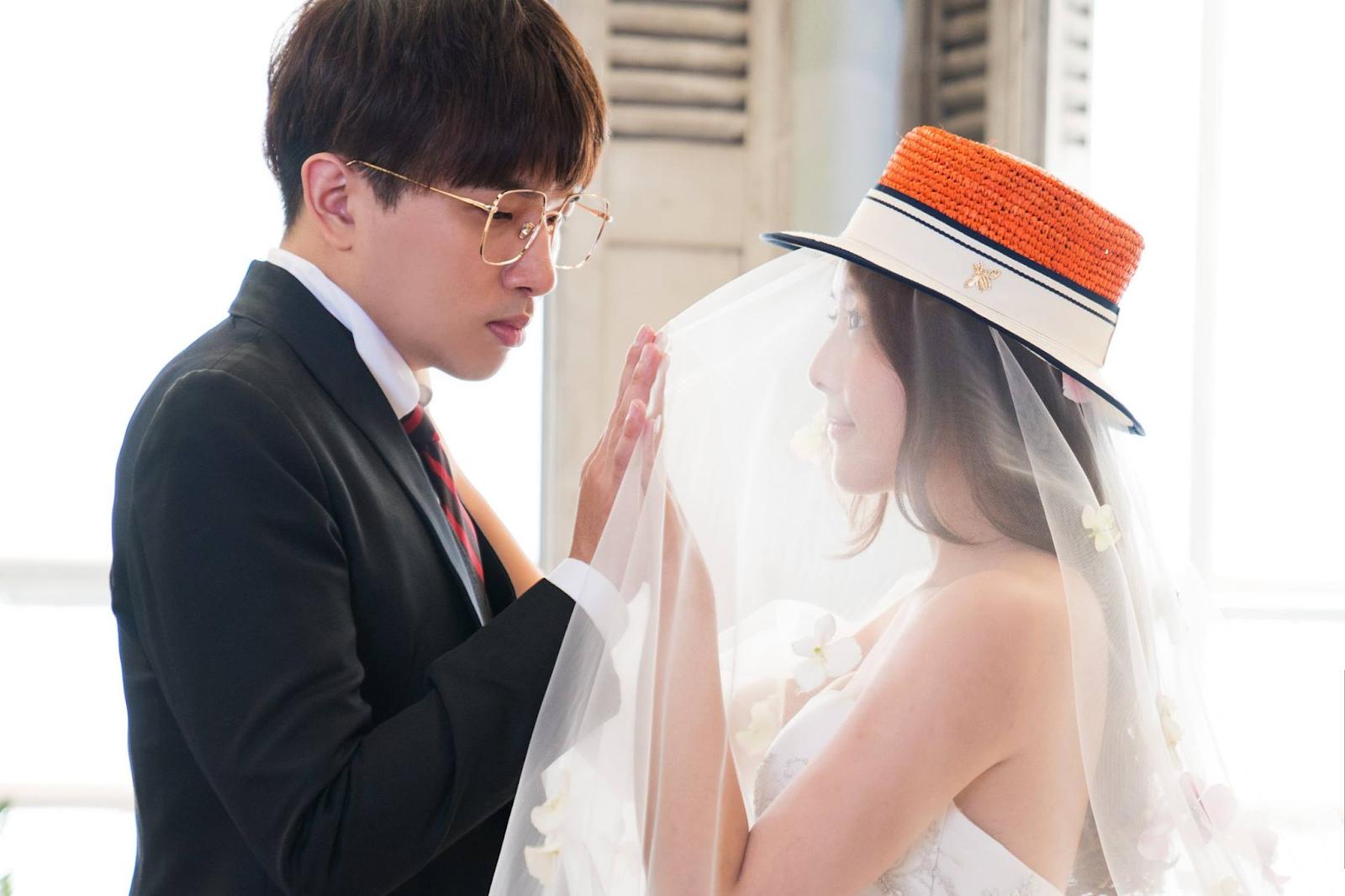 ▲winds陳鵬年在迎娶時也有開實況和觀眾分享喜悅。