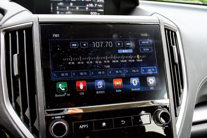 植入6.3吋智慧影音觸控螢幕,介面系統維持以往。