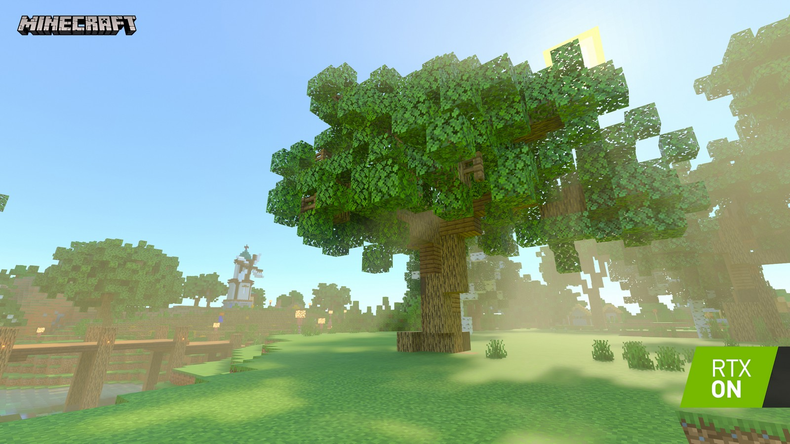 Minecraft Looks Like A Whole New Game With Nvidia S Rtx Ray Tracing Engadget