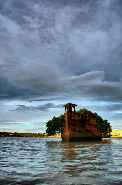 SS Ayrfield號 (Photo by Flickr user: Ozzify Homebush Bay, New South Wales, License: CC BY 2.0, 圖片來源www.flickr.com/photos/ozzify/6795305969)