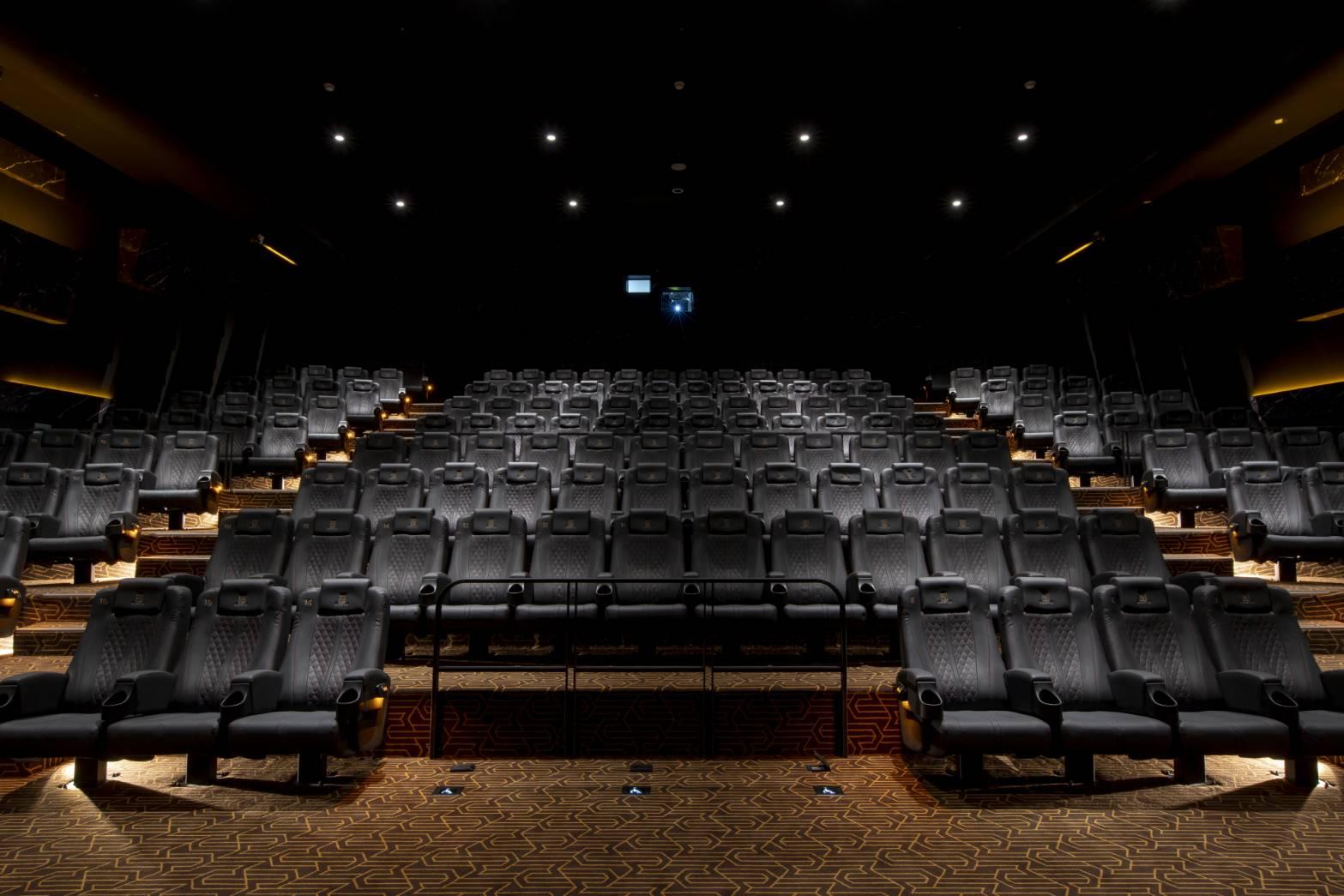 A13 MUVIE CINEMAS戲院廳內