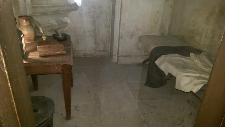 囚犯牢房(圖片來源:李珮宇)