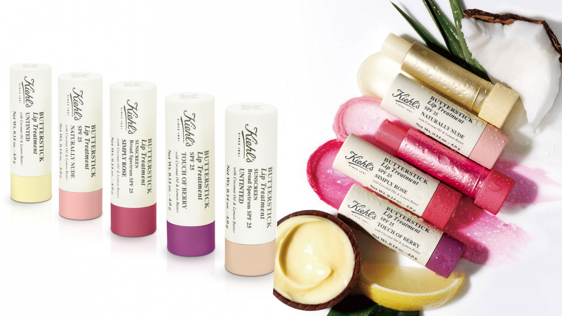 輕輕抹上就能立即潤唇、潤色,搭配檸檬奶油的淡淡檸檬清香,即使不想上妝也能打造令人怦然心動的超可口美唇!