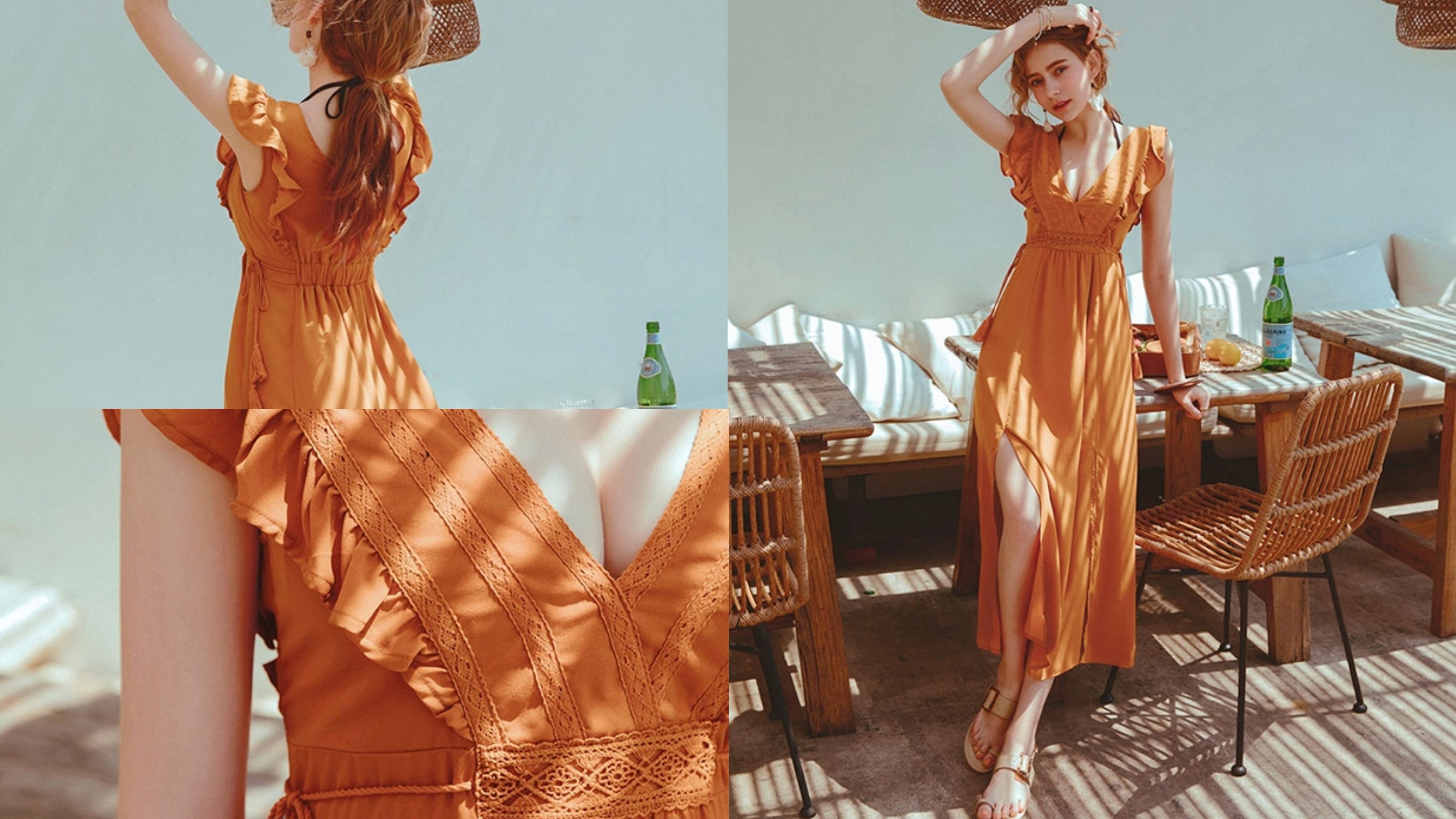熱情誘人的泰奶色,搭配流蘇元素,展現出最浪漫的異國風情