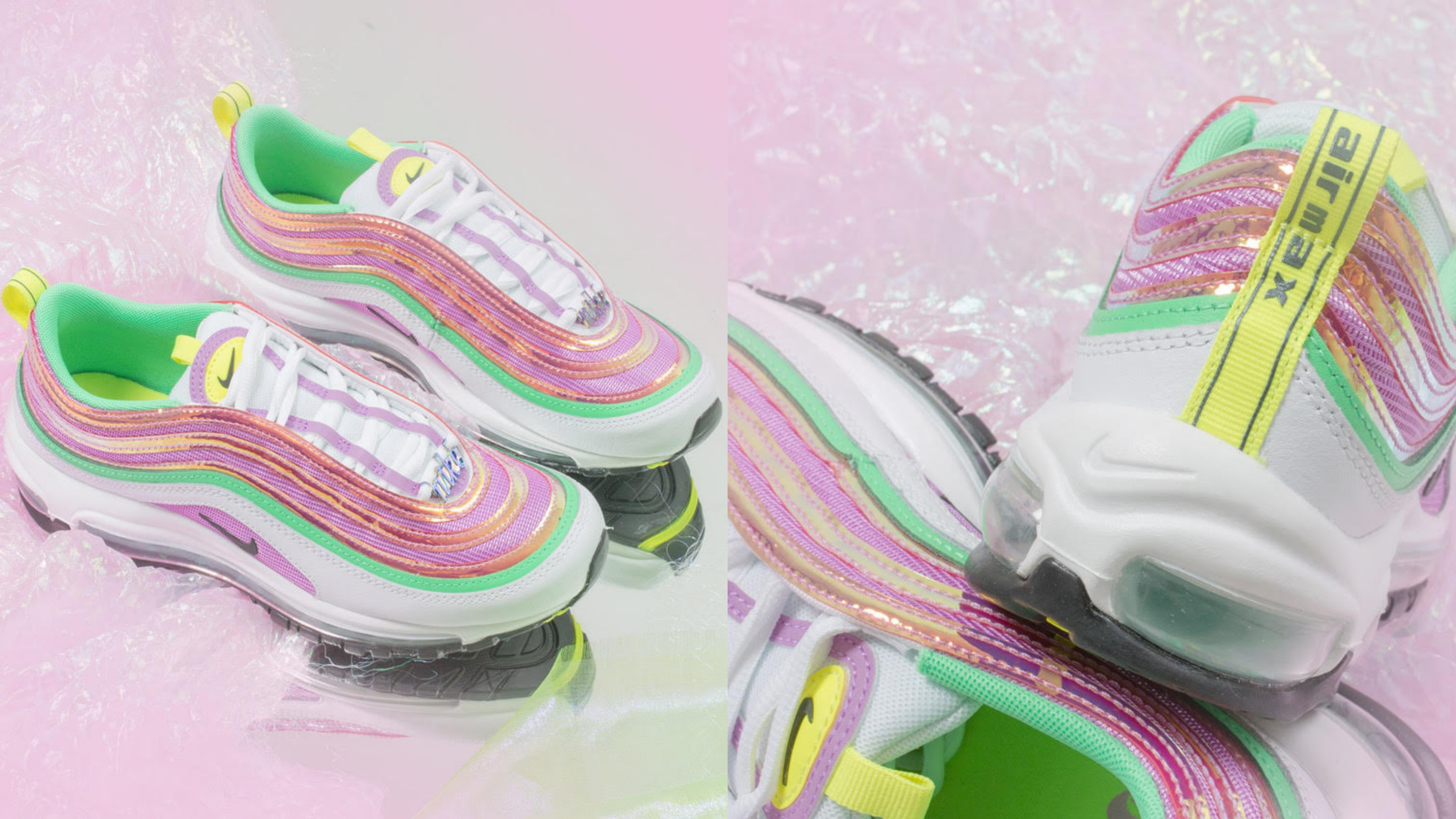 以嶄新糖果夢幻配色及物料,重塑原版設計,將層層猶如美人魚般夢幻色彩相互堆