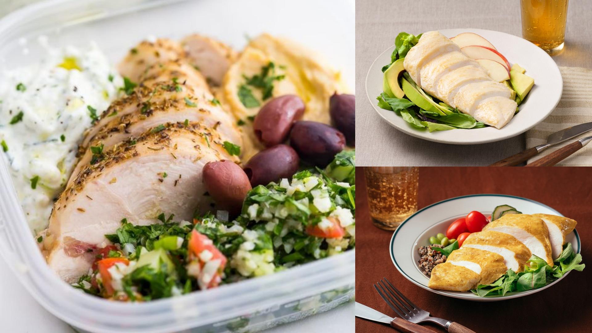 金豐盛 日日系列即食雞胸肉,肉質軟嫩又含有豐富蛋白質,家樂福就能買到超方便!