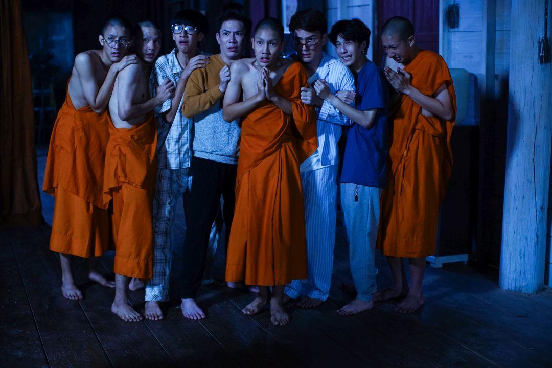 泰國人氣歌手扮演恐怖鬼僧,恐怖氣場令劇組都退避三舍