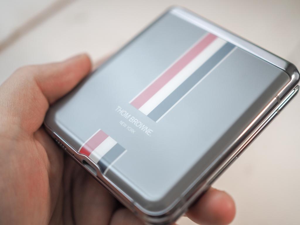 Galaxy Z Flip ThomsBrowne Edition