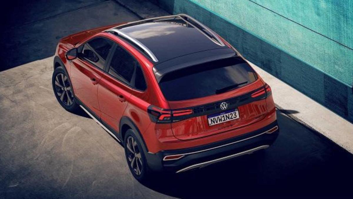 VW Nivus 與 T-Cross 尺碼相近,但 Nivus 擁有靈活的車室空間。