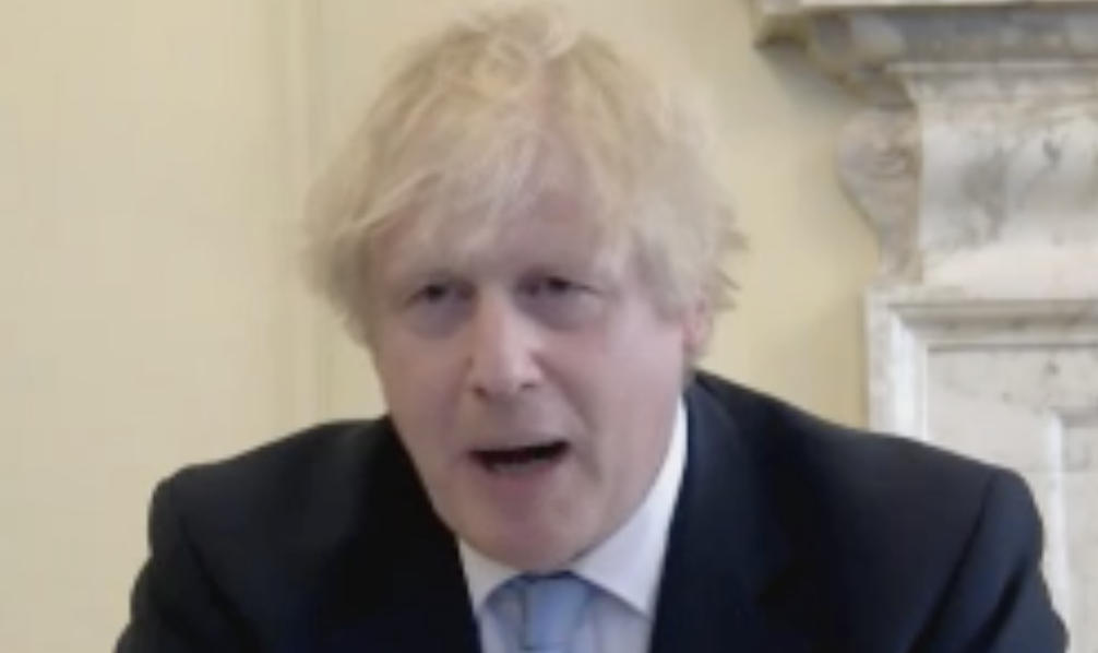 Boris Johnson dismissed the Dominic Cummings lockdown row as a 'political ding-dong'. (Parliamentlive.tv)