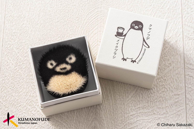 「小企鵝熊野化妝刷」職人手工製作