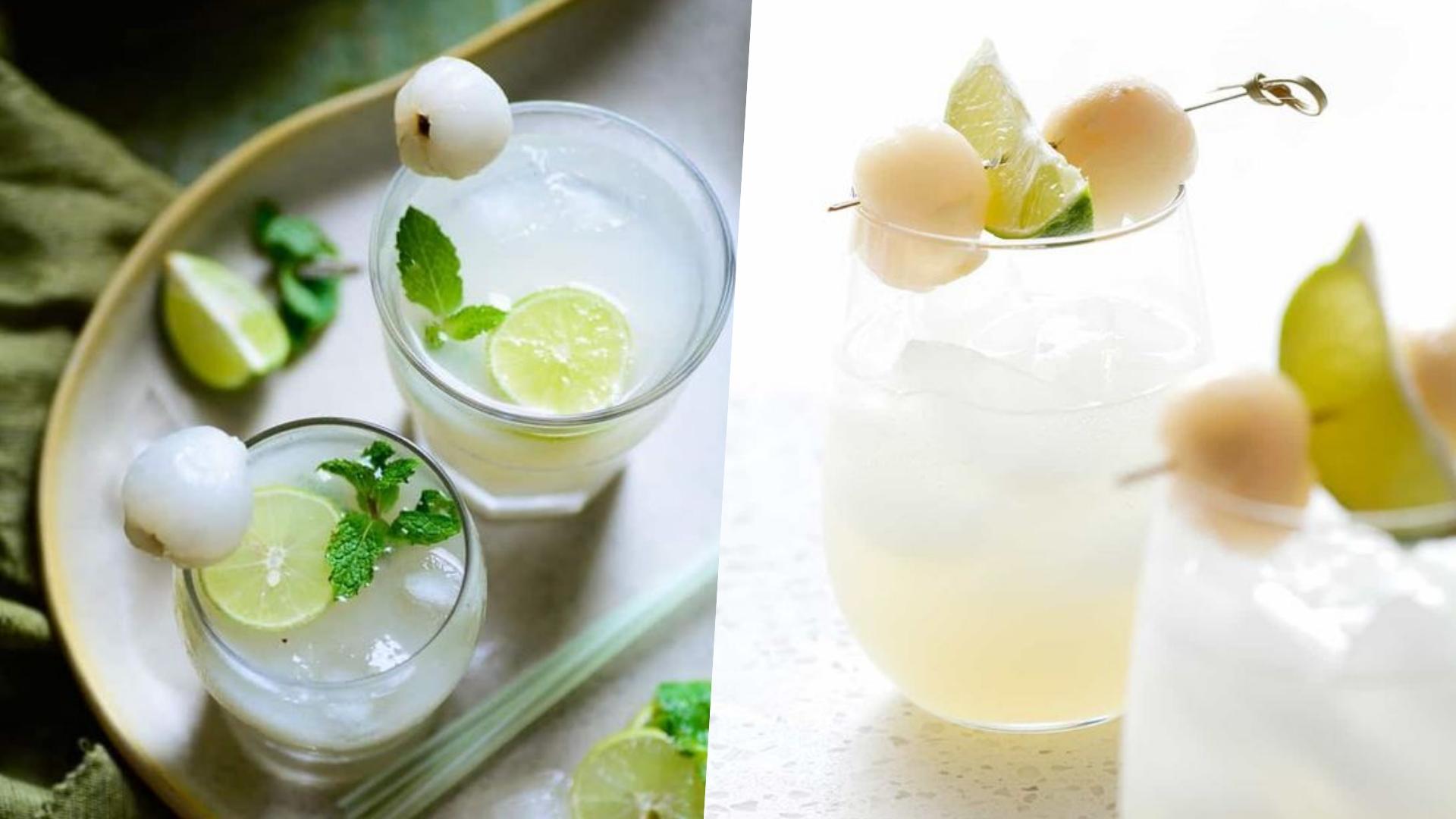 荔枝的甜蜜搭配蘇打水的清爽,夏天喝好消暑!