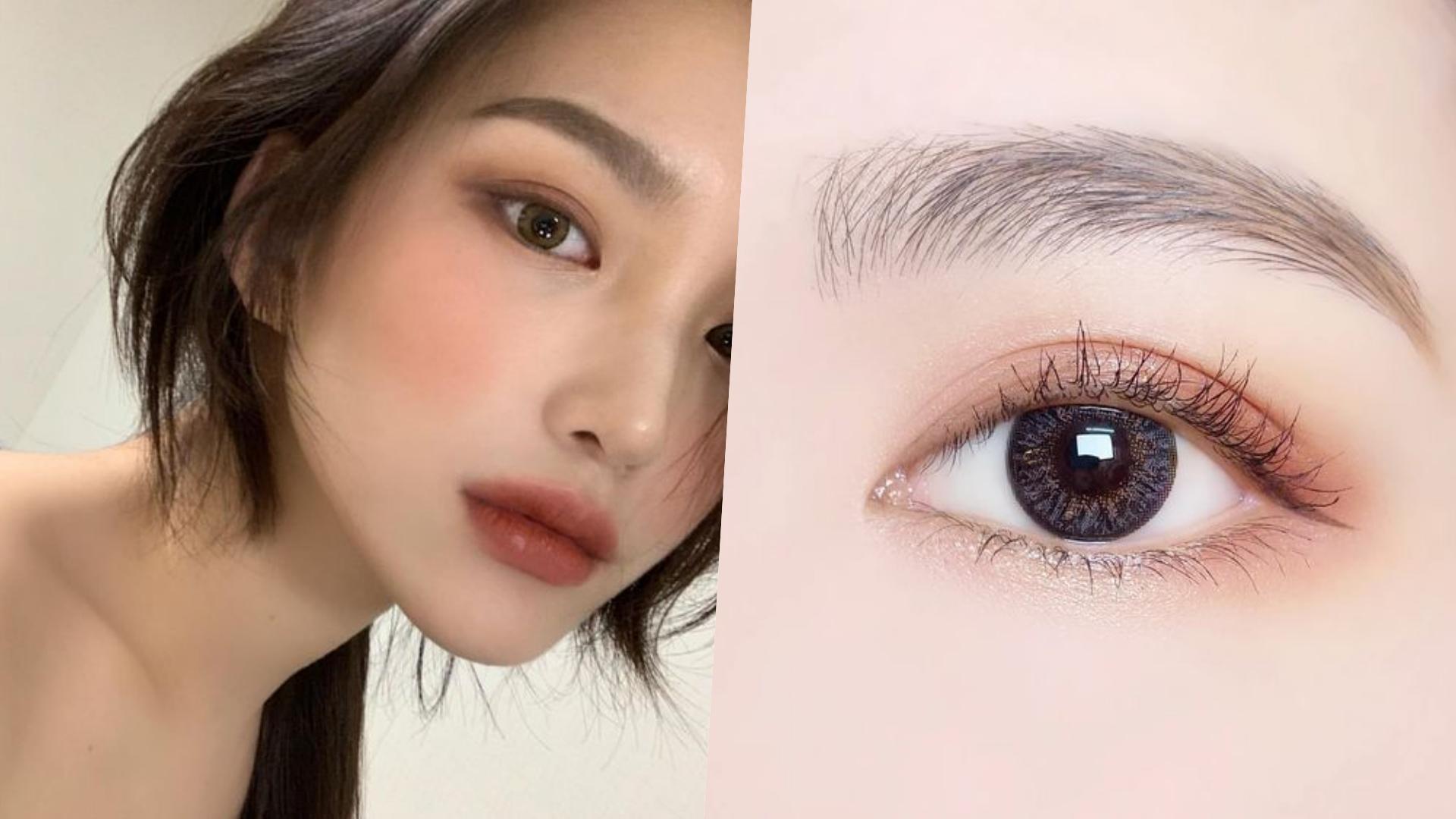 只要一兩色的眼影,其實就能創造眼神的深邃感!