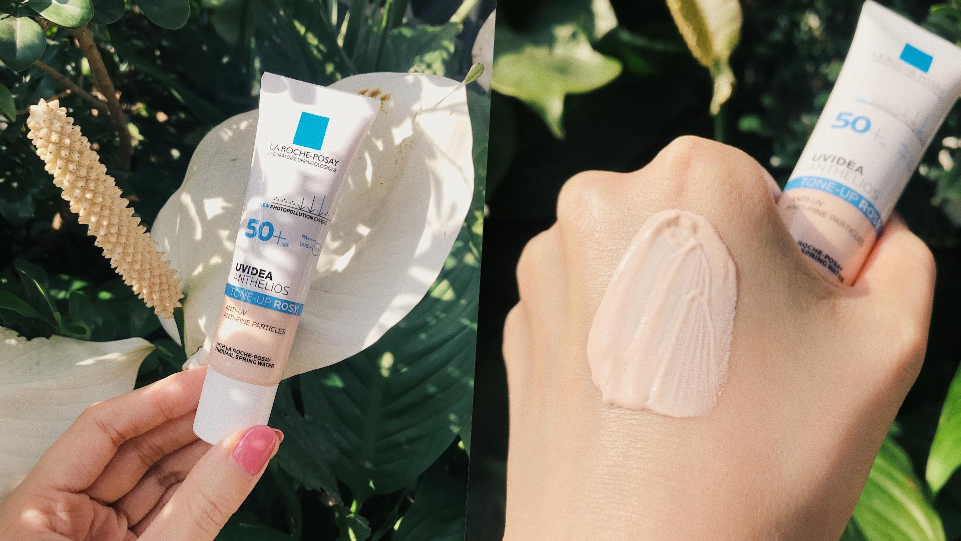 針對會讓肌膚「曬黑曬老」的長波UVA做防護,並且不添加香精和防腐劑,讓敏感肌使用起來超放心!而且今年這款還特別添加玫瑰色的高效亮顏成分