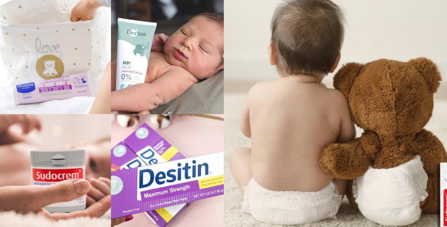 寶寶尿布疹、濕疹、汗疹...怎麼辦?新手爸媽必備的神級萬用膏