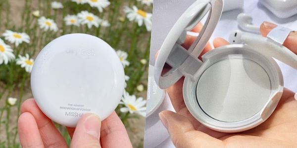 韓國美妝品牌MISSHA新推出的蜜粉系列「airy pot.」